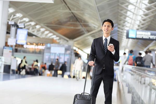 1.旅行や出張の機会が多い人