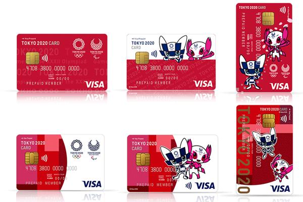 全6種類のカードデザイン