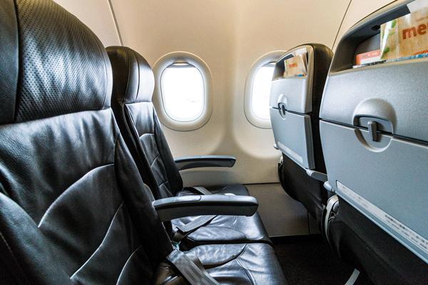 座席のアップグレード